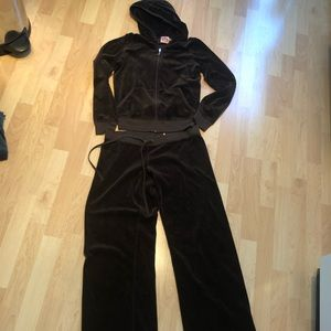 Juicy Couture Sweatsuit Brown Color